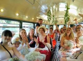 Vintage bus for weddings in Sevenoaks