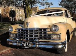 1947 Cadillac Sedan for weddings in Basildon