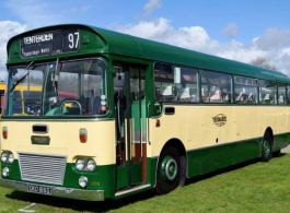 Vintage Bus for wedding hire in Brighton