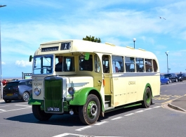 Vintage Bus for wedding hire in Bridgwater
