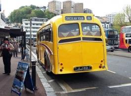 1949 Leyland Bus for weddings in Dudley