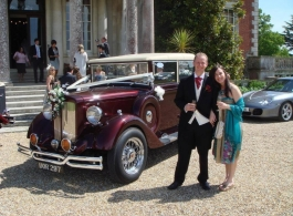 Vintage Style wedding car in Southampton