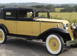 1930 Vintage Renault for weddings in Hastings