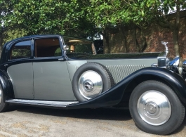 Vintage Rolls Royce for wedding hire in London