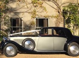 Rolls Royce Phantom wedding car hire in London
