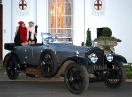 Vintage Rolls Royce for weddings in Sittingbourne