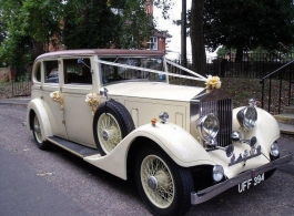 Rolls Royce for weddings in Maidstone