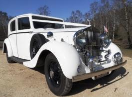 Rolls Royce Phantom for weddings in Southampton