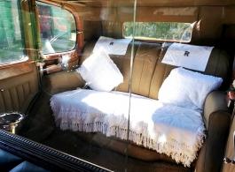 Rolls Royce wedding car in Castleford