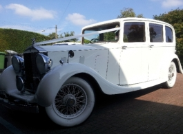 Vintage Rolls Royce for weddings in Portsmouth