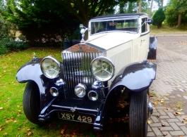 Vintage Rolls Royce Phantom for weddings in Lyndhurst