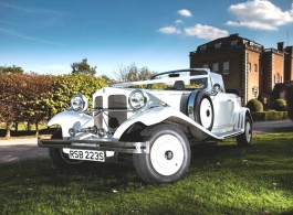 Convertible Beauford for weddings in Central London