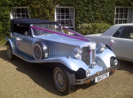 Beauford wedding car for hire in Reading