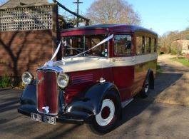 Vintage Bus for weddings in Southampton