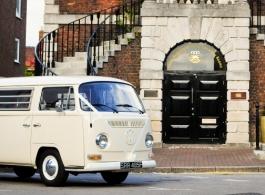 1968 Campervan for weddings in London