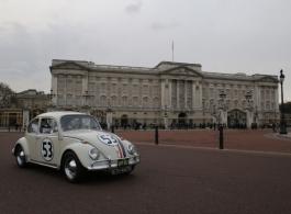 Herbie VW wedding hire in Basingstoke