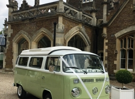 Bay Window Campervan for weddings in High Wycombe