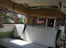 Bay Window VW Campervan wedding hire in Henley