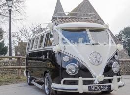 VW Campervan wedding hire in Portsmouth