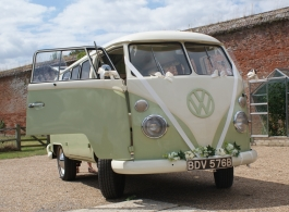 VW Campervan for weddings in Portsmouth