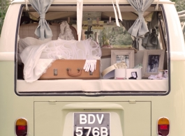 VW Campervan for weddings in Southsea