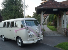 VW Splitscreen Campervan for weddings in Portsmouth