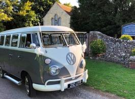 Classic Campervan for weddings in Southsea
