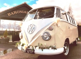 1962 Campervan for weddings in Chelmsford