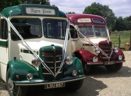 1940s Vintage wedding bus for hire in Woking