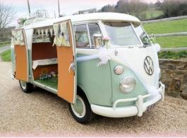 Wedding Campervan hire in Fareham