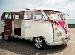 Wedding Campervan for hire in Burgess Hill