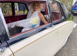 Classic car for weddings in Rochester