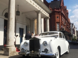 Classic Rolls Royce wedding car in London