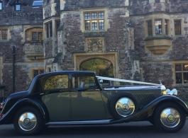 Rolls Royce wedding car hire in Wimbledon