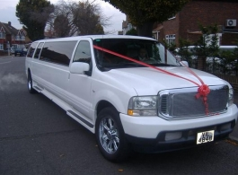 14 seat Limousine for weddings in Central london
