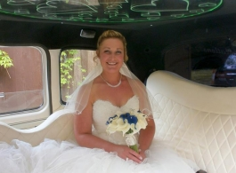 Classic London Taxi for weddings in Eastbourne, East Sussex
