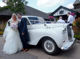 Austin Princess wedding car for hire in Dartford
