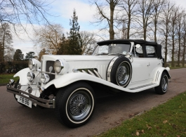 White Beauford for weddings in London