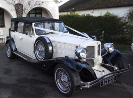 Vintage Style Beauford for wedding hire in Basingstoke