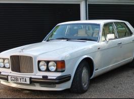 Classic Bentley wedding car hire in Tunbridge Wells