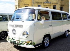 1970 Campervan for wedding hire in Dartford