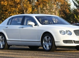 White Bentley Spur for weddings in London