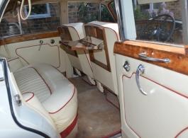 Classic Rolls Royce wedding car in Sidcup