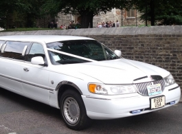 Mercedes 7 seat Limousine for weddings in Enfield
