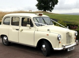 Classic London Taxi wedding Hire in Basingstoke