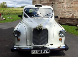 White London Taxi for weddings in Bristol