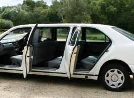 Limousine for wedding hire in Winchester