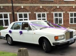 Rolls Royce wedding car hire in Robertsbridge, East Sussex