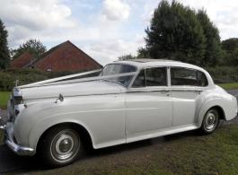 Classic Rolls Royce Wedding Car in Portsmouth