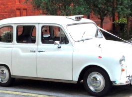 White London Taxi for weddings in Basingstoke